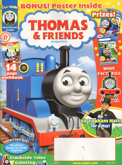 Thomas & Friends Cover - 5/1/2011