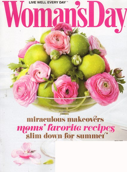 Woman's Day Cover - 5/1/2011