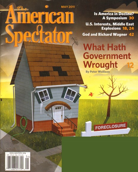 The American Spectator Cover - 5/1/2011