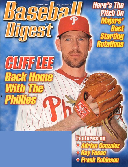 Baseball Digest Cover - 5/1/2011