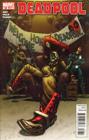Deadpool Cover - 5/1/2011