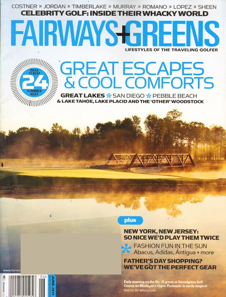 Golf Getaways Cover - 5/1/2011