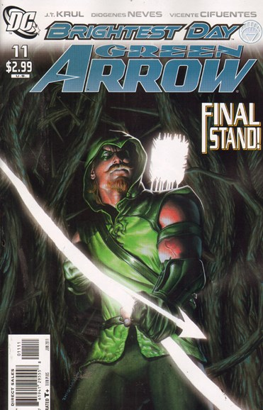 Green Arrow Cover - 6/3/2011