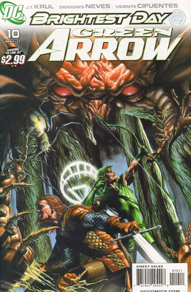 Green Arrow Cover - 5/1/2011
