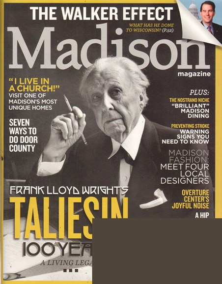 Madison Magazine Cover - 5/1/2011