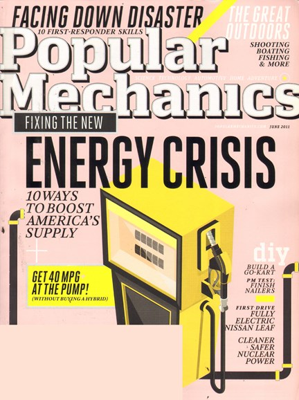 Popular Mechanics Cover - 6/1/2011