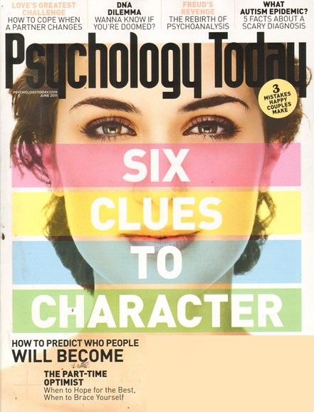 Psychology Today Cover - 6/1/2011