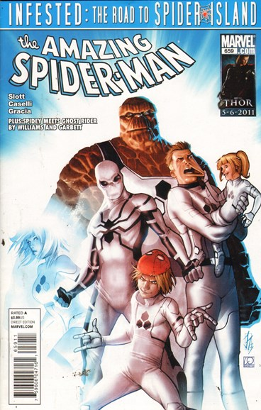 Amazing Spider-Man Cover - 5/1/2011
