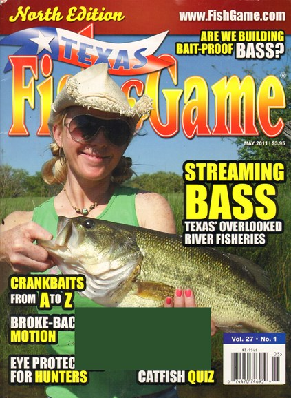 Texas Fish & Game Cover - 5/1/2011