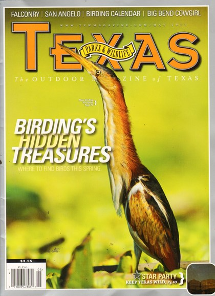 Texas Parks & Wildlife Cover - 5/16/2011