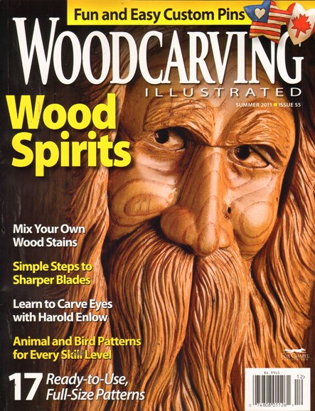 Wood Carving Illustrated Cover - 6/1/2011
