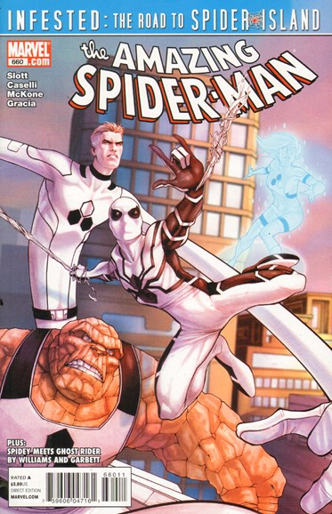 Amazing Spider-Man Cover - 7/1/2011