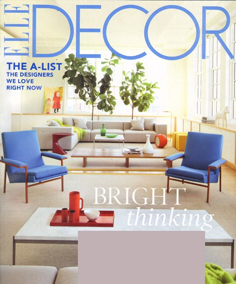 ELLE DECOR Cover - 6/1/2011
