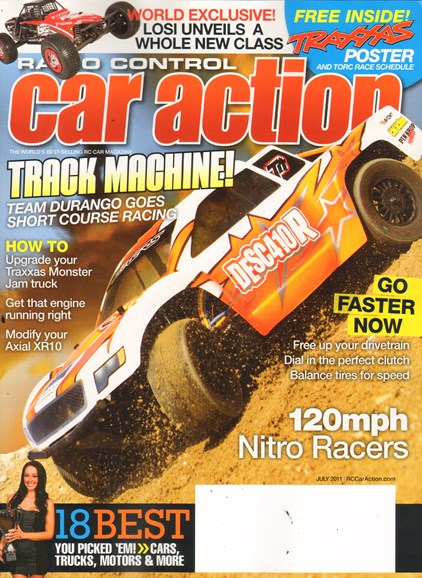 Radio Control Car Action Cover - 7/1/2011