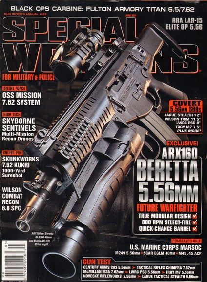 Special Weapons for Military & Police Cover - 6/1/2011