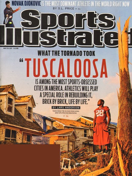 Sports Illustrated Cover - 5/23/2011