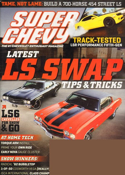 Super Chevy Cover - 7/1/2011