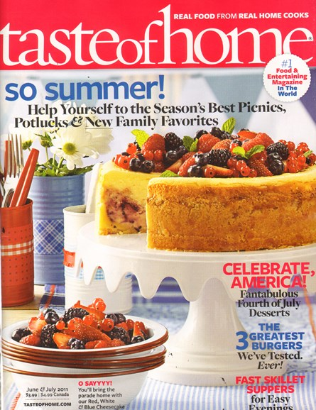 Taste of Home Cover - 6/1/2011