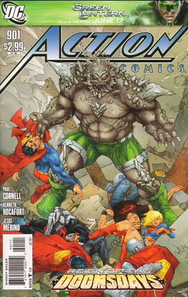 Action Comics Cover - 7/1/2011
