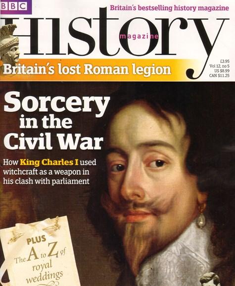 BBC History Cover - 6/1/2011