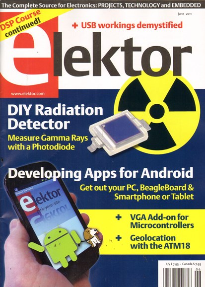 Elektor - North American Edition Cover - 6/1/2011