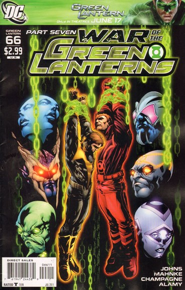 Green Lanterns Cover - 7/1/2011