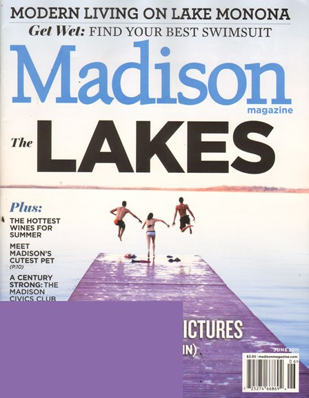 Madison Magazine Cover - 6/1/2011