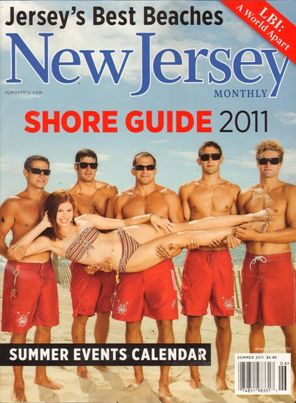 New Jersey Monthly Cover - 6/1/2011