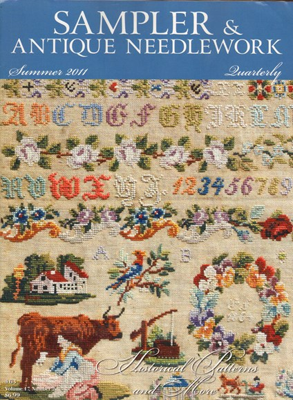 Sampler & Antique Needlework Qtry Magazine Cover - 6/1/2011
