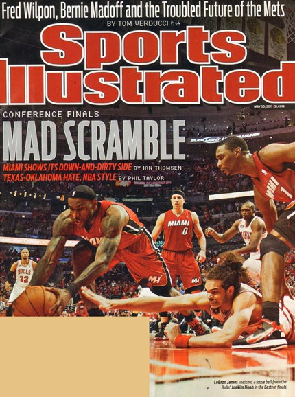 Sports Illustrated Cover - 5/30/2011