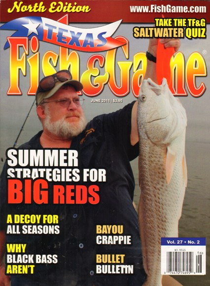 Texas Fish & Game Cover - 6/1/2011