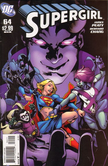 Supergirl Cover - 7/1/2011