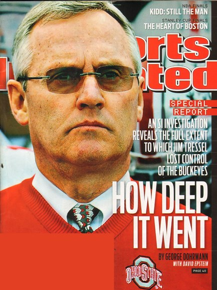 Sports Illustrated Cover - 6/6/2011