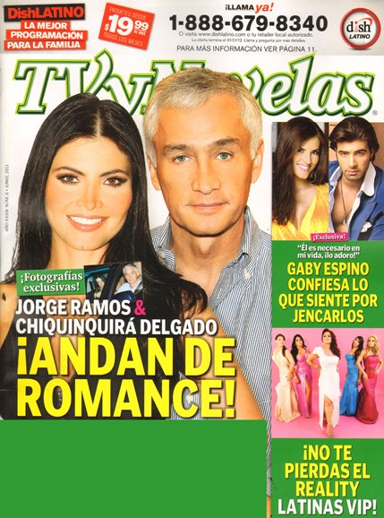 Tv Y Novelas Cover - 6/1/2011