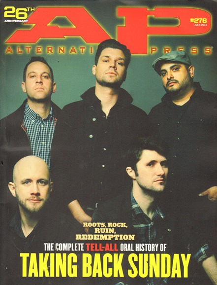 Alternative Press Cover - 7/1/2011