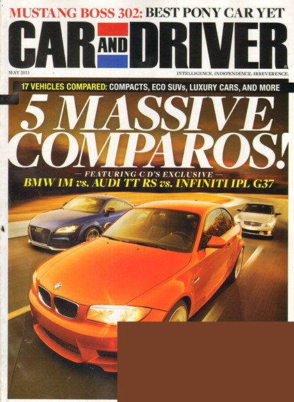Car And Driver Cover - 5/1/2011