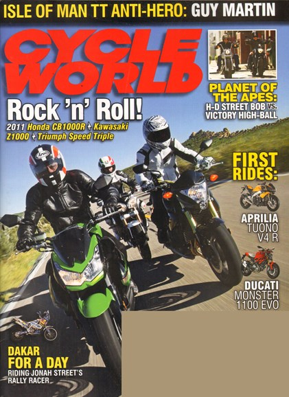Cycle World Cover - 7/1/2011