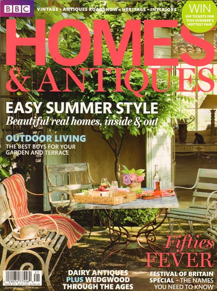 Homes & Antiques Cover - 7/1/2011