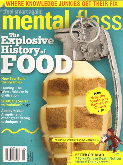 Mental Floss Cover - 7/1/2011