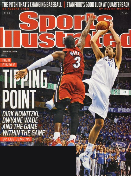 Sports Illustrated Cover - 6/13/2011