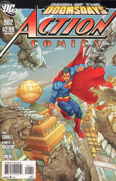 Action Comics Cover - 8/1/2011
