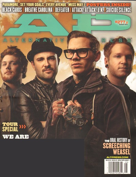 Alternative Press Cover - 8/1/2011