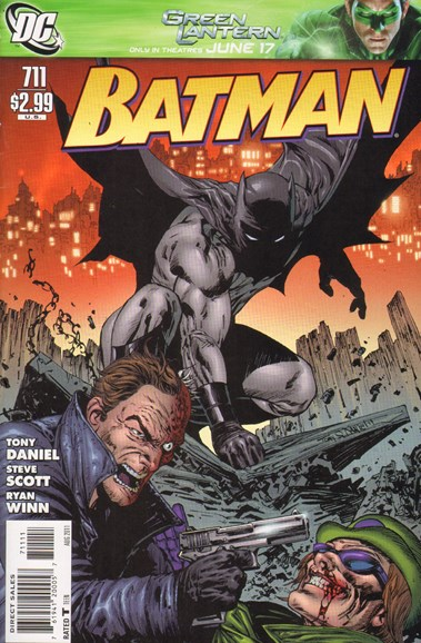 Batman Cover - 8/1/2011