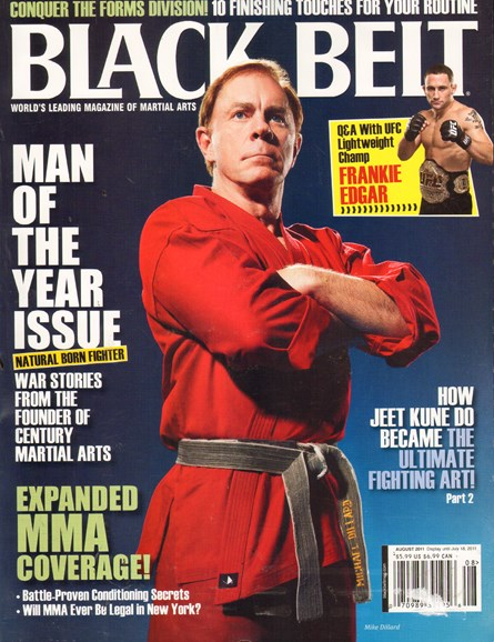 Black Belt Magazine Cover - 8/1/2011