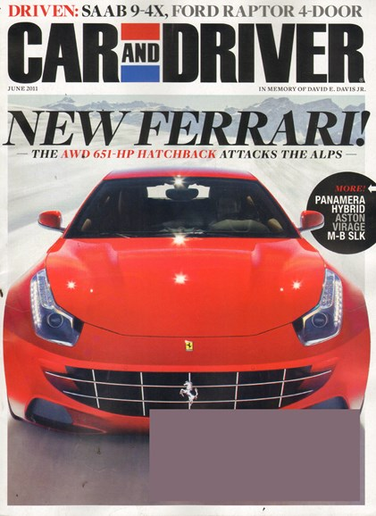 Car And Driver Cover - 6/1/2011