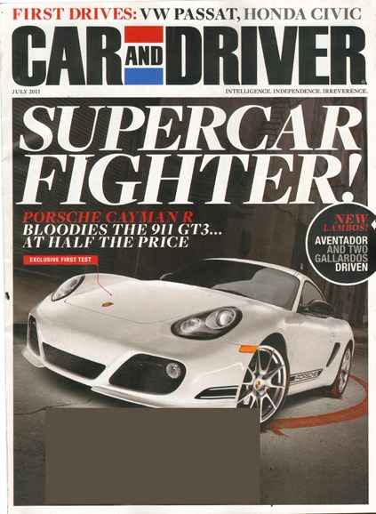 Car And Driver Cover - 7/1/2011