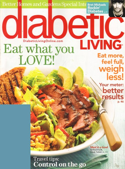Diabetic Living Cover - 6/1/2011