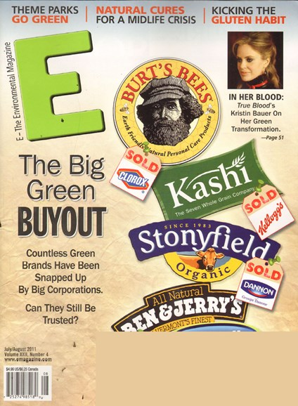 E: The Environment Magazine Cover - 7/1/2011