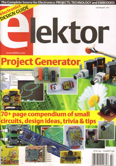 Elektor - North American Edition Cover - 7/1/2011