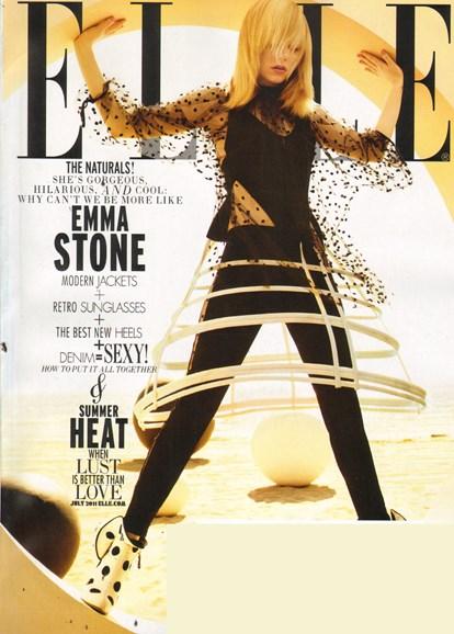 ELLE Cover - 7/1/2011